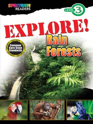 cover image of EXPLORE! Rain Forests