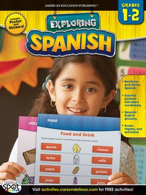 cover image of Spanish, Grades 1 - 2