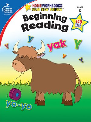 cover image of Beginning Reading, Grade K