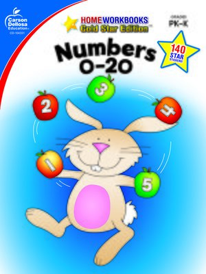 cover image of Numbers 0-20, Grades PK--K