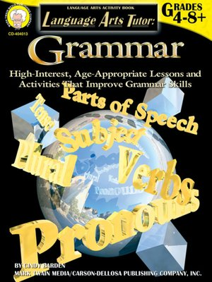 cover image of Grammar, Grades 4 - 8
