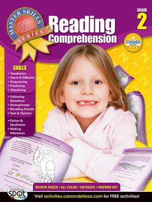 cover image of Reading Comprehension, Grade 2