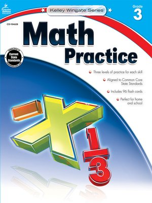 cover image of Math Practice, Grade 3