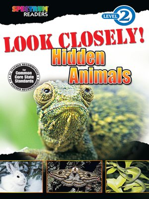 cover image of Look Closely! Hidden Animals