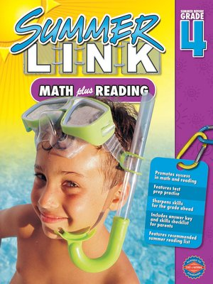 cover image of Math Plus Reading, Grades 3 - 4