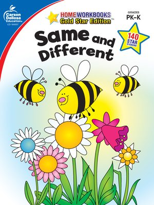 cover image of Same and Different, Grades PK--K