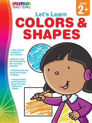 cover image of Let's Learn Colors & Shapes, Grades Toddler - PK