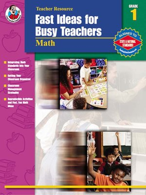 cover image of Fast Ideas for Busy Teachers: Math, Grade 1
