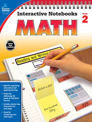 cover image of Math, Grade 2