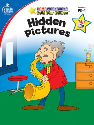 cover image of Hidden Pictures, Grades PK--1