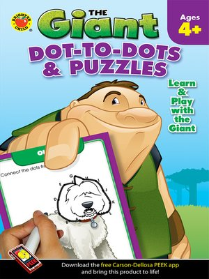 cover image of Dot-to-Dots & Puzzles Activity Book, Grades PK - K