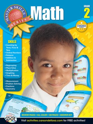 cover image of Math, Grade 2