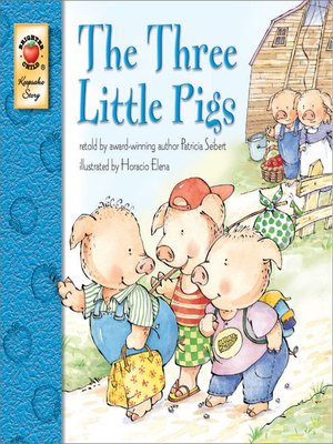 cover image of The Three Little Pigs, Grades PK--3