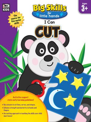 cover image of I Can Cut, Age 3
