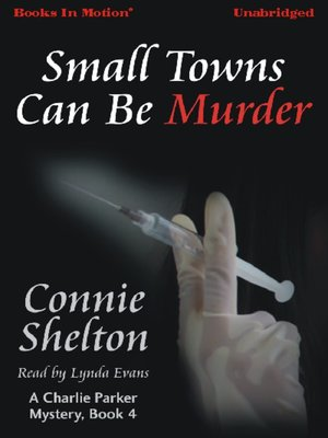 cover image of Small Towns Can Be Murder