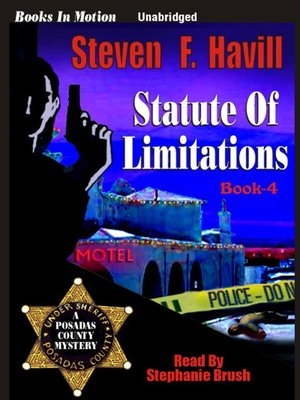 cover image of Statute of Limitations