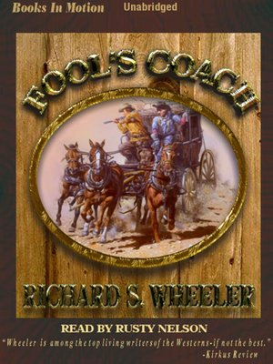 cover image of Fool's Coach