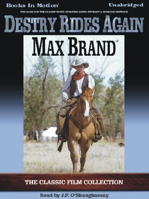 cover image of Destry Rides Again