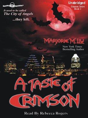 cover image of A Taste of Crimson