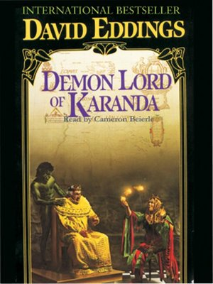 cover image of Demon Lord of Karanda