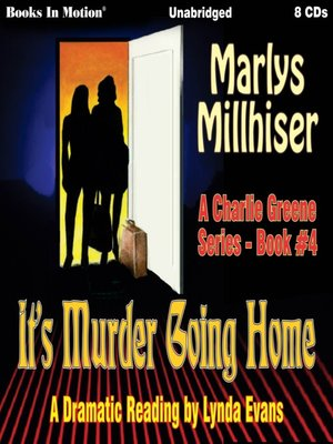 cover image of It's Murder Going Home