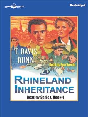 cover image of Rhineland Inheritance