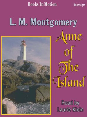 cover image of Anne of the Island
