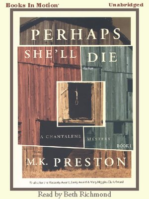 cover image of Perhaps She'll Die