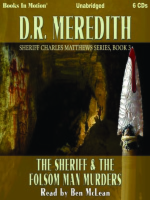 cover image of The Sheriff and the Folsom Man Murders