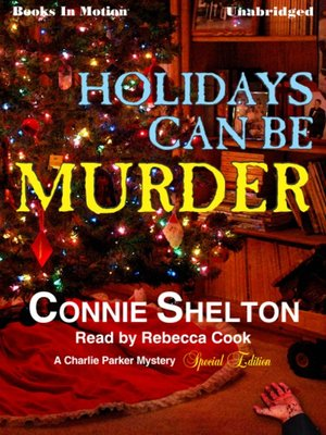 cover image of Holidays Can Be Murder