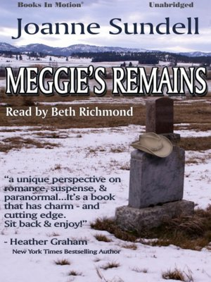 cover image of Meggie's Remains