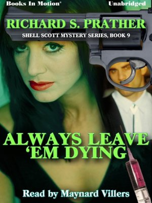 cover image of Always Leave 'Em Dying