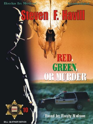 cover image of Red, Green, or Murder