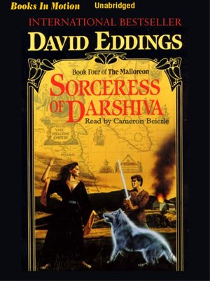 cover image of Sorceress of Darshiva