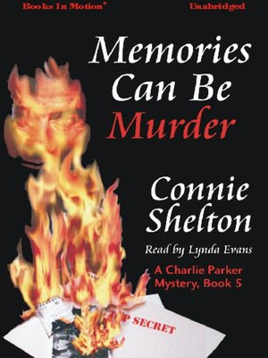 cover image of Memories Can Be Murder