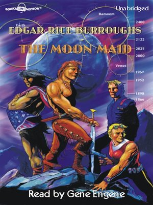 cover image of The Moon Maid