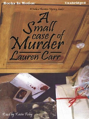 cover image of A Small Case of Murder