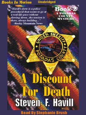 cover image of A Discount for Death