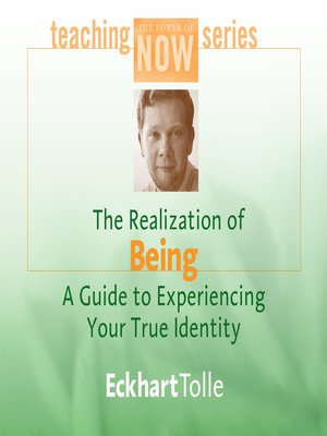 cover image of The Realization of Being