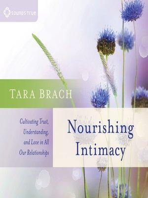 cover image of Nourishing Intimacy