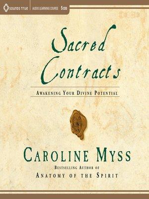 Sacred Contracts by Caroline Myss · OverDrive (Rakuten OverDrive ...