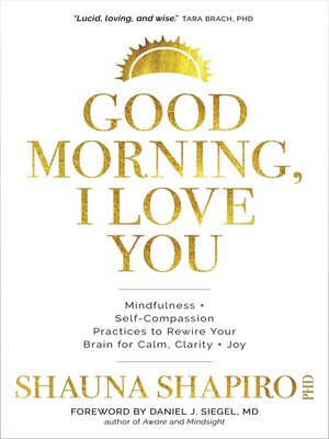 cover image of Good Morning, I Love You