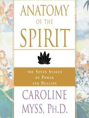 caroline myss anatomy of the spirit pdf