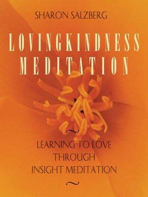 cover image of Lovingkindness Meditation