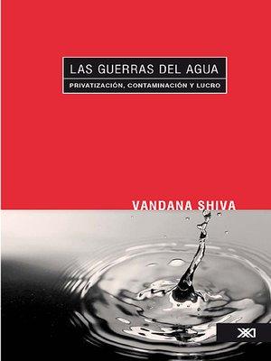 cover image of Las guerras del agua