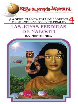 cover image of Las joyas perdidas de Nabooti