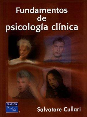 cover image of Fundamentos de Psicología Clínica