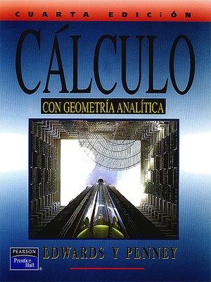 cover image of Cálculo con Geometría Analítica