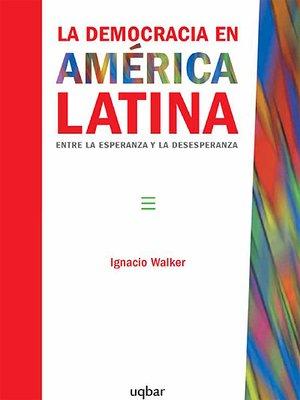 cover image of La democracia en América Latina
