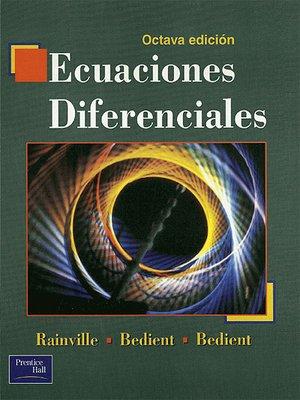 cover image of Ecuaciones Diferenciales